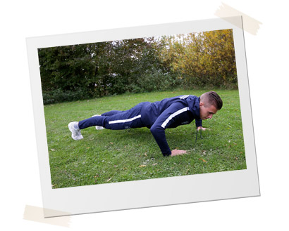 Personal Training - Sven Meuwsen - Planking
